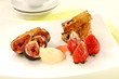Toffee Strawberries And Figs