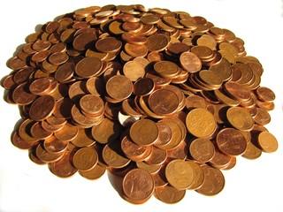 Magot de centimes d'euros
