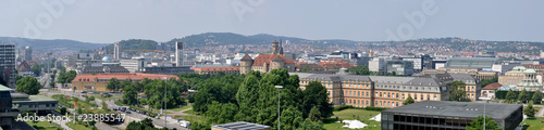Stuttgart City Panorama