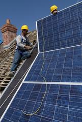 poseurs panneaux photovoltaiques