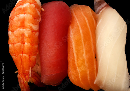 Textures of Sushi