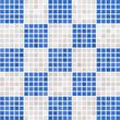 Textur Mosaik blau grau