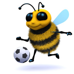 3d Soccer Bee