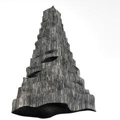 rocky pyramid