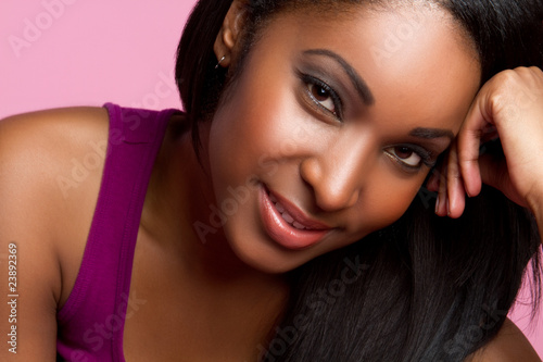 Smiling Black Woman