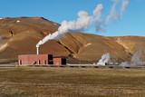 Geothermal powerplant poster