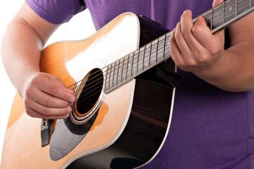 Electric Acoustic Guitarist