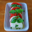 Caprese Salad with Fresh Basil