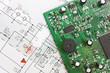 schematic diagram  and electronic board - 23895545