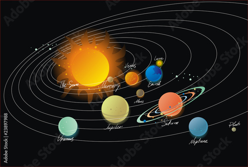 solar system vector free download - photo #30