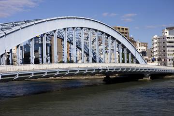 東京 隅田川と永代橋