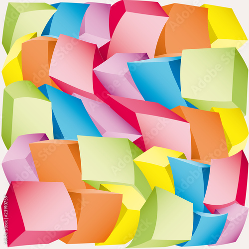 Multicolored dot background vector point illustration