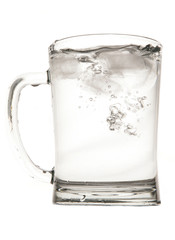 Water in pint glass