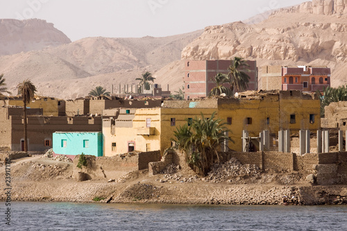 village in nile