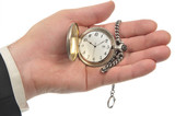 Pocket Watch on the palm