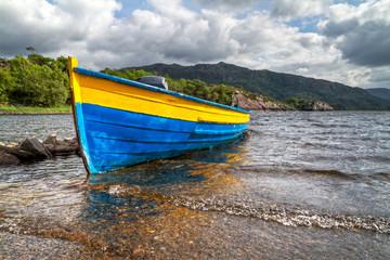 Boat in Killarney National Park - Ireland