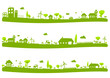 Paysages campagne vert