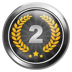 urkunde, button 2. platz, silbermedaille