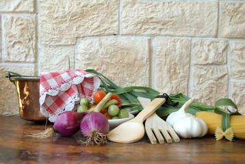 ortaggi in cucina