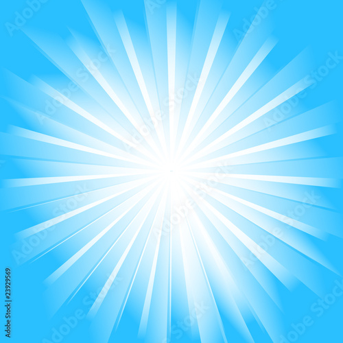 Sunburst vector background