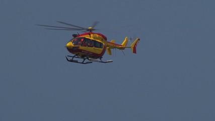 Helicopter sécurité civile