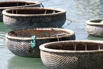 Vietnamese fishermen's boat