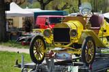 vieille voiture de collection années 20 poster