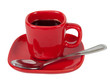 Cup of Coffee with hand made clipping path