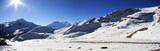 Panorama from thorong la pass, Annapurna poster