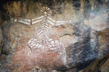 unusual rock painting