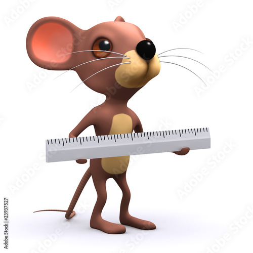 3d Mouse using ruler