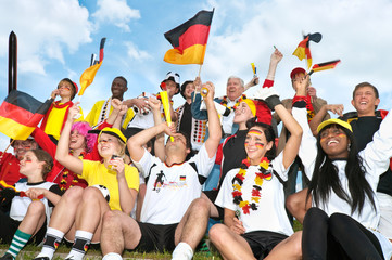 fussball, fan, deutschland