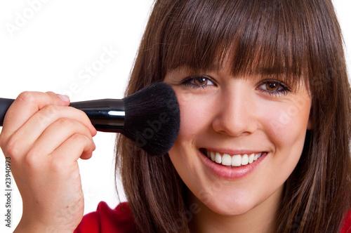 Fototapeten,frau,makeup,pinsel,cosmetic
