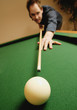 Playing A Game Of Pool