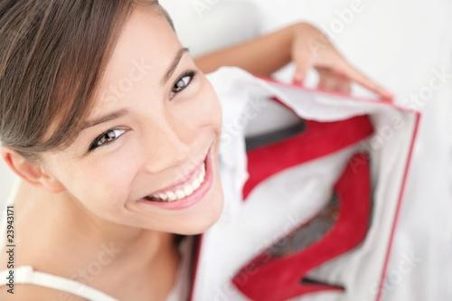 High heels woman