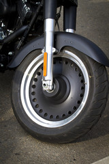 Wheel of motorcycle
