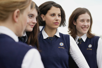 Group Of Students In Uniform