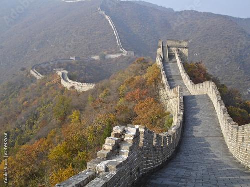 Tuinposter Chinese Muur Great China wall