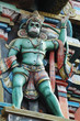 Hanuman - hindu God, king of monkeys,decoration of hindu temple