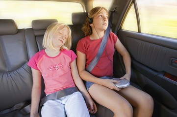 Girls In The Back Seat Of A Car