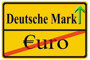 Währungswechsel Euro-DM
