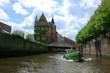 Fleetfahrt durch die Hafencity in Hamburg