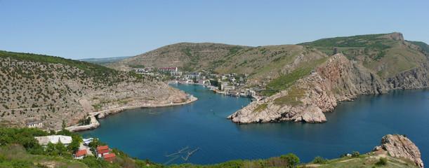Panorama of Balaclava bay
