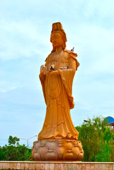 buda in khonkaen of thailand