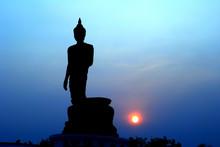 Buddha silhouet