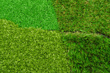 artificial  grass turf selection poster