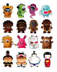 vector characters illustration