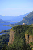 Vista House & Columbia Gorge OR. poster