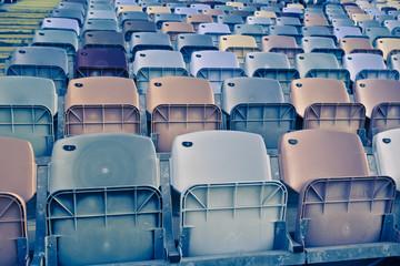 Retro Stadium Seats