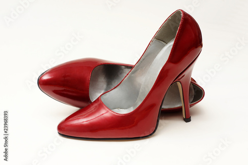 rote pumps high heels - 23968393